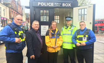 Dorset PCC Visits Boscombe as part of Latest Community Day Programme