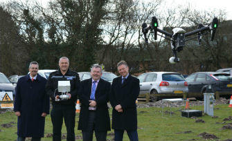 Drones are the future for policing says PCC
