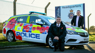 Poppy Car to Commemorate Centenary Year