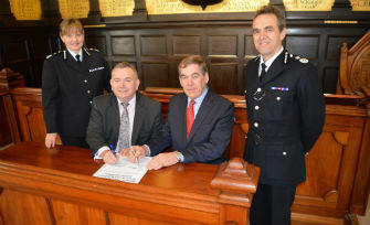 Agreement Signed For Strategic Alliance Between Devon & Cornwall Police And Dorset Police