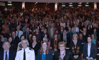 TACKLING SEXUAL VIOLENCE CONFERENCE A HUGE SUCCESS