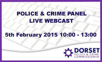 LIVE WEBCAST: Dorset Police And Crime Panel Hearing